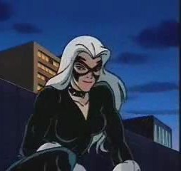 Black Cat from the Spider-Man 90s cartoon, a.k.a. the best Spider-Man cartoon. Photo from Fox Kids.