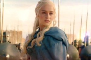This is the Khaleesi. Don't mess with her. Photo from Filmofilia.
