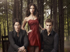 Elena's life is really difficult because she has to choose between two hot vampire brothers, ugh. Photo from Fanpop.