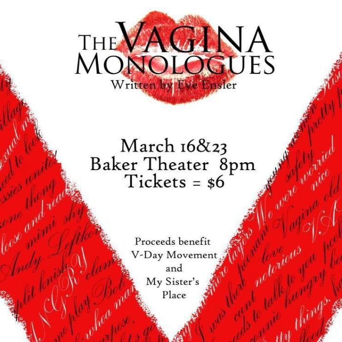 Photo from OU's Vagina Monologues cast.