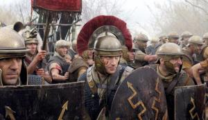 Hot dudes in armor going off to battle? Where have we been seeing this lately? (Westeros). Photo from HBO.