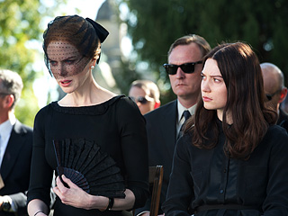 "Nicole Kidman's whispery performance in ""Stoker"" left us feeling more than a little disturbed. Photo from Entertainment Weekly."