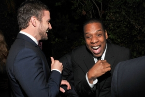 "JT and Jay-Z are the cutest besties ever. Thankfully, they channel their awesome relationship into musical gold on ""The 20/20 Experience."" Photo from Vice."