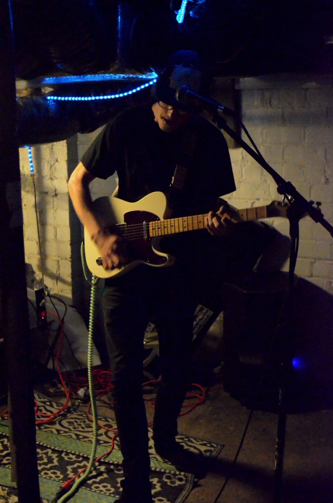 Guitarist Grant Engstrom of Small Steps plays the hits