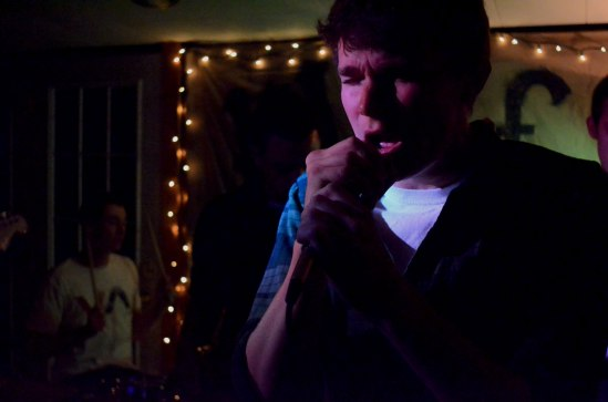 Singer Morgan Marvar of Bixford croons to a set dripping with 90s alternative style. CREDIT: Evan Chwalek