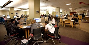 And that's why you never study alone. Photo from Ohio University Libraries.