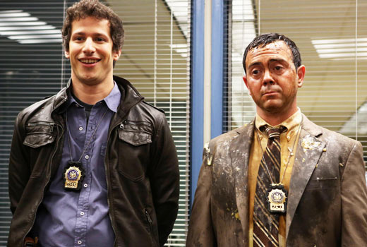 """Brooklyn Nine-Nine"" is quite possibly our new favorite bromance. Photo from Zap 2 It."
