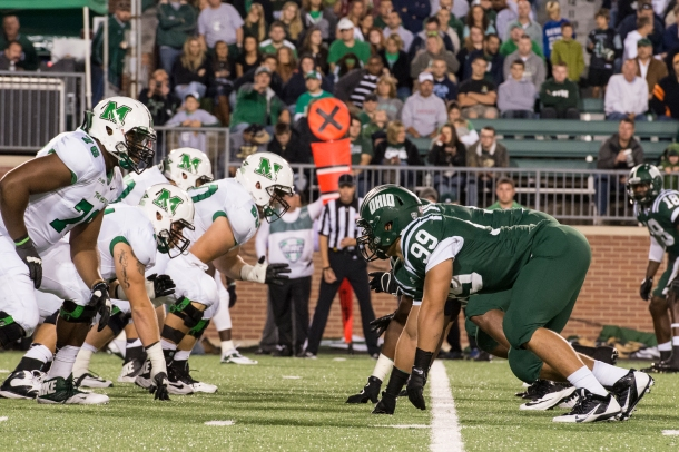 Early in the 2013 season, Ohio's defense is much improved. (Carl Fonticella)