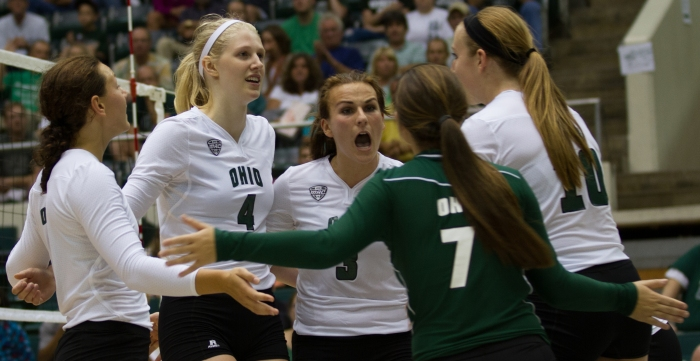 Ohio volleyball started strong. Can they keep it going? (Nicholas Horsely)