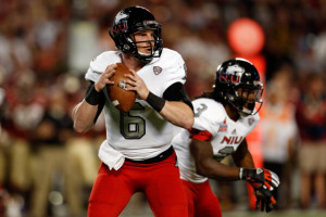 Jordan Lynch of Northern Illinois. Photo by  Chris Trotman/Getty Images.