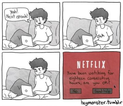 The truth about Netflix. Photo by gentlemint.