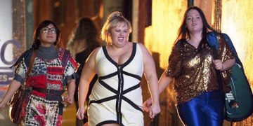 "Rebel Wilson glams it up in ""Super Fun Night."" Photo courtesy of tv.com."