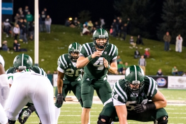 Quarterback Tyler Tettleton threw for 266 yards in his third straight win over Marshall