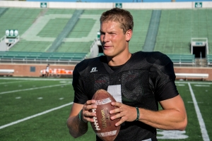 Tyler Tettleton may need some of last year's magic to beat Marshall (Carl Fonticella).