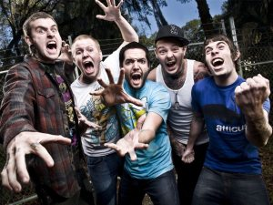 These fellas happen to be  part of a little band called A Day to Remember. Photo from Freetime Magazine.