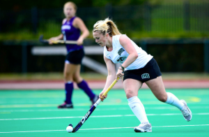 Adele Sammons may play field hockey, but she follows the soccer tables closely. (Ohio Athletics)