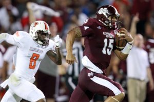 Bowling Green came close to knocking off Mississippi State, but faded late. (Marvin Gentry, USA Today Sports)