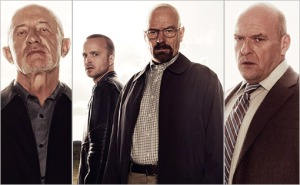 """I feel like the show's name should have been """"Breaking Bald."""""""