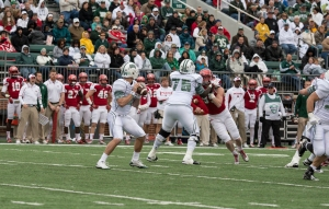 The Bobcats will need another huge game from Tettleton if they want to win on the road in Buffalo (Carl Fonticella)