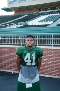 Cornerback Ian Wells is growing into one of the leaders of the Ohio defense. (Carl Fonticella)