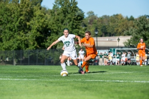 Ohio junior Tonya Frasik says a quick start is key in both of this weekend's games. (Carl Fonticella)