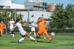 Bowling Green ended Ohio's streak of 290 minutes without allowing a goal. When will the Bobcats give up another? (Carl Fonticella)