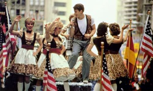Ferris Bueller also taught us that there's always room for a spontaneous musical number. Photo from The L Magazine.