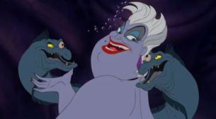 Oh, Ursula and her body language. Photo by whatculture.com.