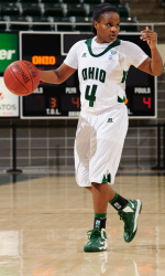 Kiyanna Black scored 35 points Sunday against Xavier. (Ohio Athletics)