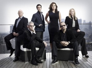 Um, where is Eliot Stabler? That's all that really matters. Photo from Yahoo TV.