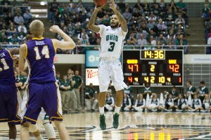Bean Willis had a career-high 31 points in Ohio's blowout win. | Nicholas Horsley