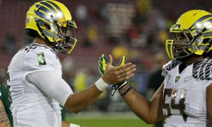 Oregon has led the wave in college football's uniform craze. (Thomas Boyd/The Oregonian)