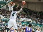 Maurice N'dour won his second MAC East Player of the Week. (Logan Riely, WOUB)