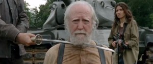 We'll miss you Herschel. Photo from AMCTV.com
