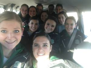 Traveling to competition!