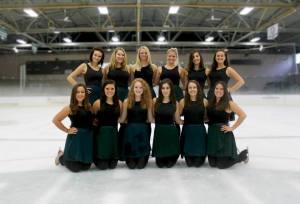 The Ohio University Synchronized Skating Team 2013-2014