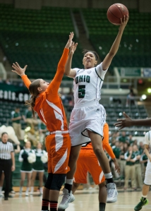 Quiera Lampkins is second on the team in scoring. (Carl Fonticella)