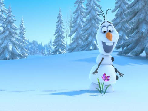 Screencap from Frozen with snowman Olaf being supes cute as usual. Photo from aceshowbiz.com.