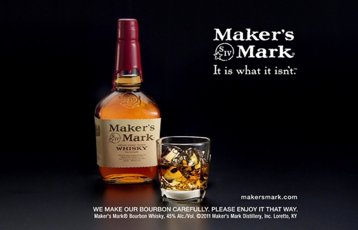 Exactly. It isn't medicine, but it totally is. Photo from Maker's Mark Distillery Inc.