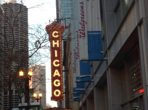 Livin' it up in Chi-Town! Photo from Madeline Keener.