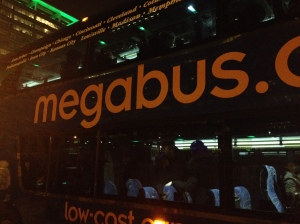 Dearest Megabus, please work on your customer service. Otherwise, thank you for your cheap prices! Photo from Maureen Mierke.