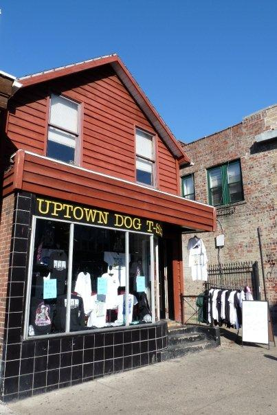 Uptown Dog T-Shirts has been a staple of uptown Athens for over 25 years. Photo from Uptown Dog T-shirts website.