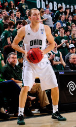 "Travis ""Silkins"" Wilkins is one of the best shooters in the MAC. (photo: ohiobobcats.com)"