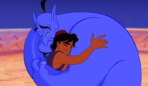 Our freedom can come from admitting that we are not free. (From Disney's Aladdin)