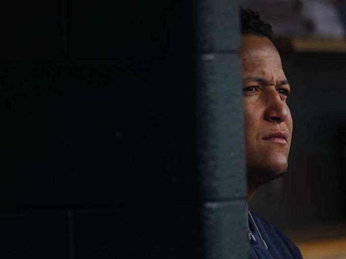 Miguel's look explains every Tigers fan's reaction the the 2014 season. Photo from Reddit.