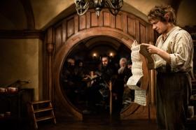 Bilbo takes the first