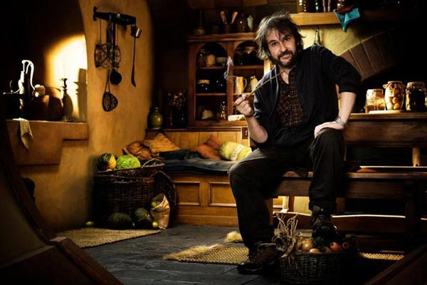 Director Peter Jackson sits down to tell us one last story. Photo from BlogSpot.