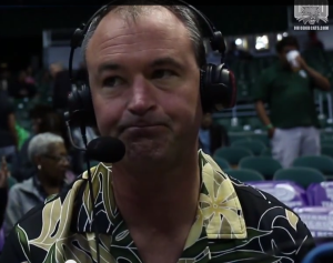 Saul Phillips was visibly upset after Ohio's 28-point defeat.