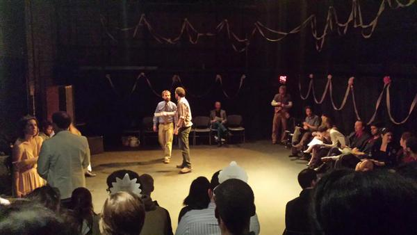 Ohio MFA Playwrighting students set the stage for a night of theatre.