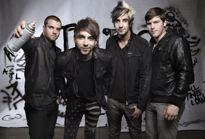 The boys of All Time Low. Photo by Infectious Magazine.